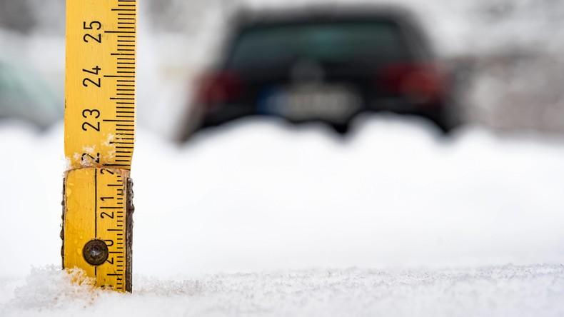 Bayern versinkt im Schnee: Katastrophenfall auch im Landkreis Bad Tölz-Wolfratshausen