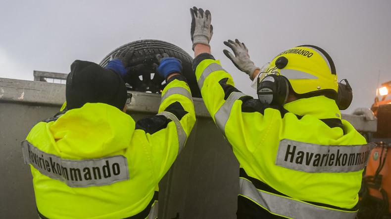 """""""Wird Wochen, wenn nicht Monate dauern"""": Bergung der Container aus der Nordsee beginnt"""