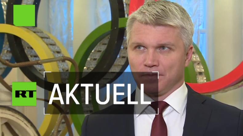 """Russischer Sportminister: """"Kooperation mit WADA läuft auf Hochtouren"""" (Video)"""