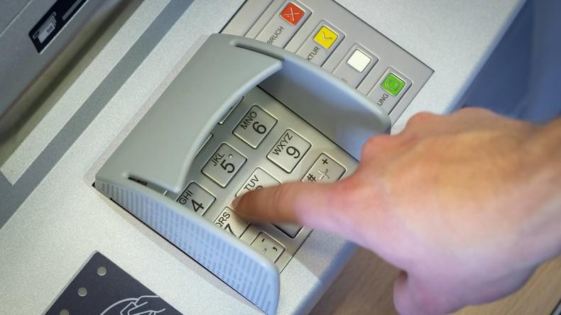 Deutschland: Schaden durch Datenklau an Geldautomaten auf Rekordtief
