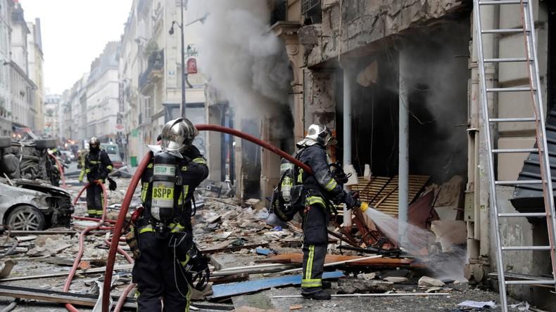 Heftige Explosion im Zentrum von Paris – mehrere Verletzte (Live)