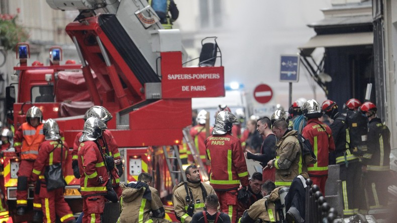 Polizei korrigiert Innenminister: Doch nur zwei Tote bei Gasexplosion in Paris