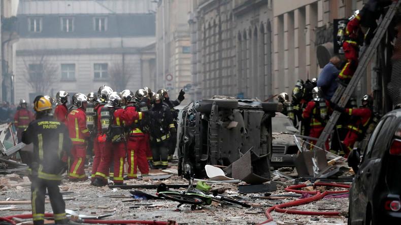 Nach Explosion in Paris weitere Leiche gefunden - nun vier Tote
