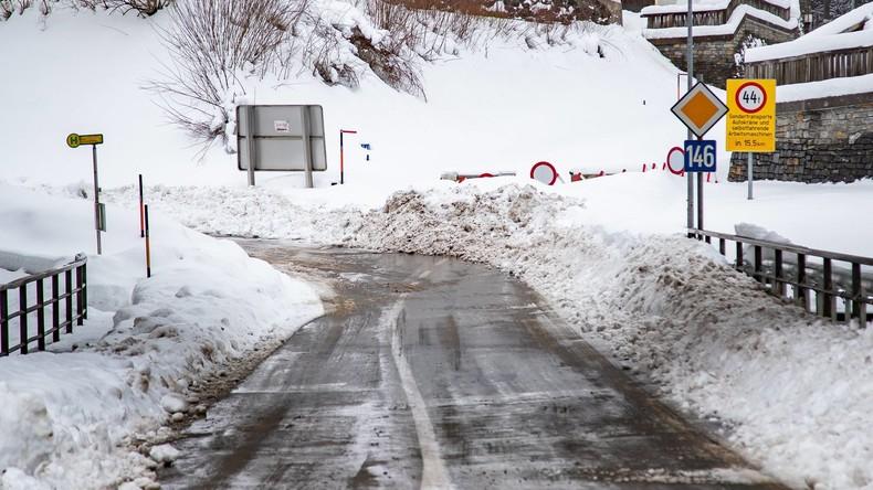 17.000 Menschen im Bundesland Salzburg von Außenwelt abgeschnitten