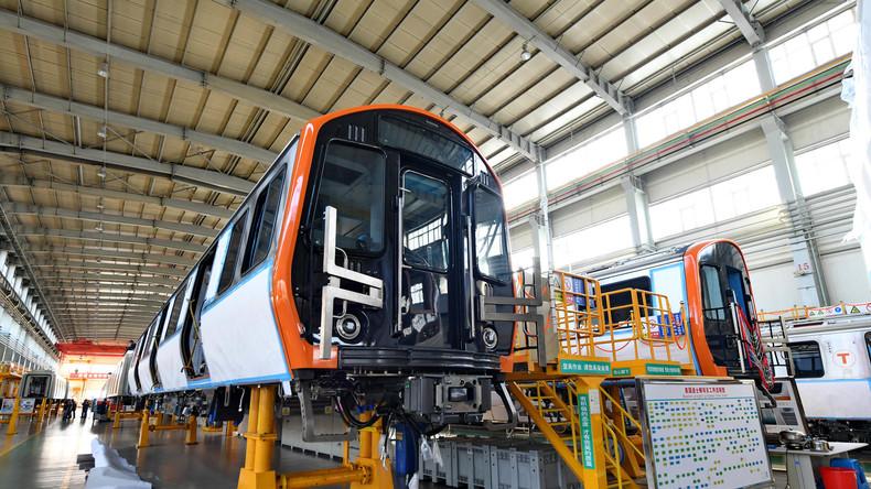 Trotz Spionagebefürchtungen: Chinesische U-Bahnzüge auf dem Weg nach Boston