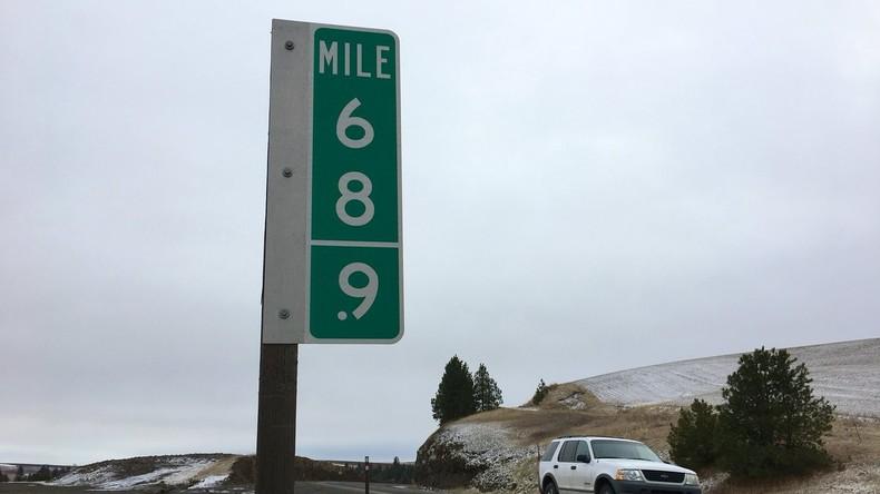 """US-Autofahrer stehlen jahrelang Zeichen mit Zahl """"69"""" – nun werden sie durch """"68,9"""" ersetzt"""