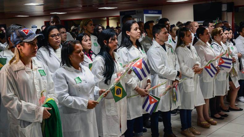 """Havanna verurteilt """"Brain-Drain-Initiative"""" der USA zur Abwerbung kubanischer Ärzte"""