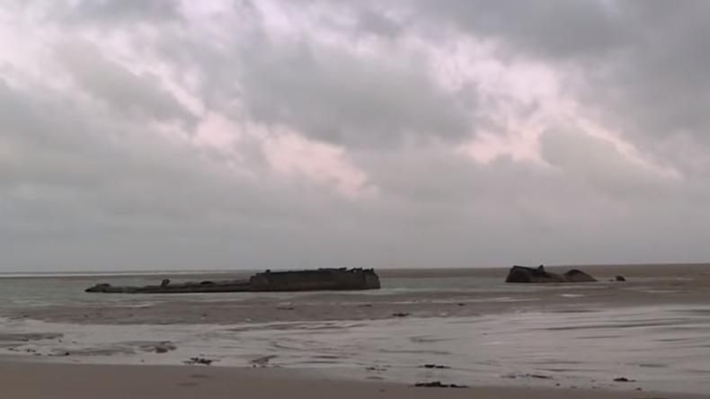 Deutsches U-Boot aus dem Ersten Weltkrieg an französischer Küste aufgetaucht