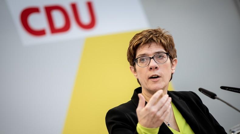 Vor wichtigen Landtagswahlen 2019: CDU-Chefin lehnt Koalitionen mit AfD und Linken kategorisch ab