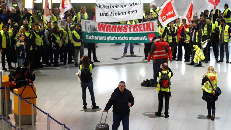 Streiks sorgen für erhebliche Ausfälle an den Flughäfen