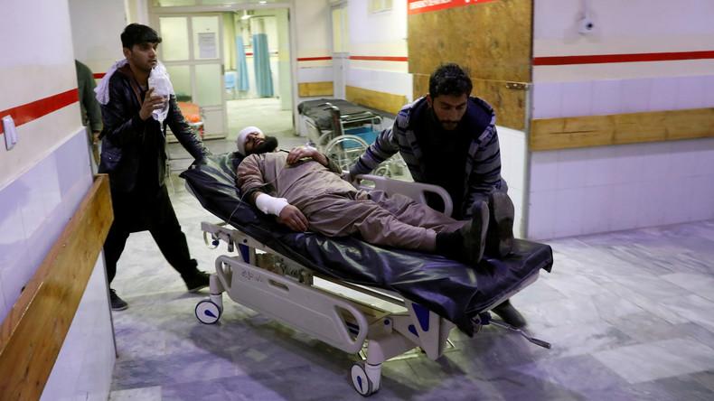 Bei Anschlag in Kabul zwei deutsche Polizisten leicht verletzt