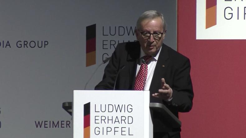 """""""Appelliere an andere Staaten, Pressefreiheit zu wahren"""" – Juncker erhält Freiheitspreis der Medien"""