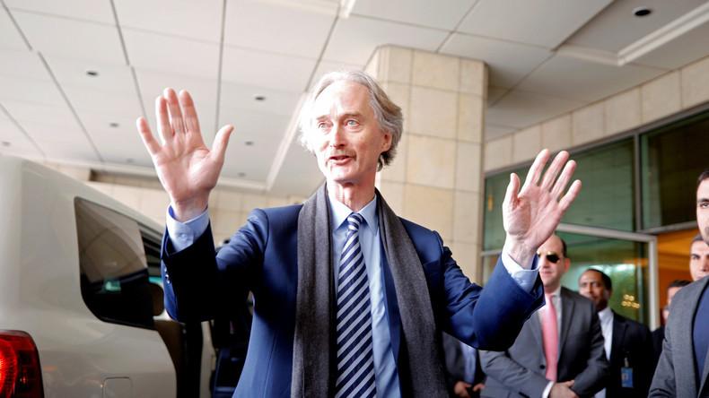 Neuer UN-Vermittler Pedersen zu Antrittsbesuch in Syrien eingetroffen