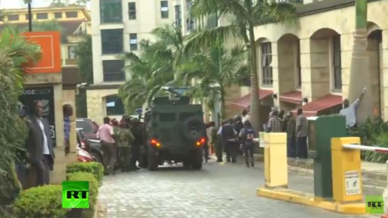 Explosion und Schüsse bei Hotel in Kenias Hauptstadt Nairobi