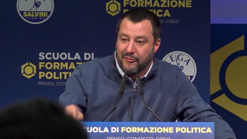 """""""Bin stolz, deren Feind zu sein"""" – Salvini dankt Brasilien für Auslieferung von Linksextremisten"""
