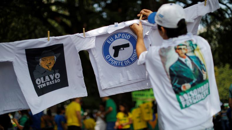 Wahlversprechen eingelöst: Brasiliens Präsident Bolsonaro erleichtert Waffenbesitz