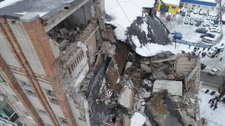 Zahl der Toten bei Gasexplosion in Russland steigt auf mindestens vier