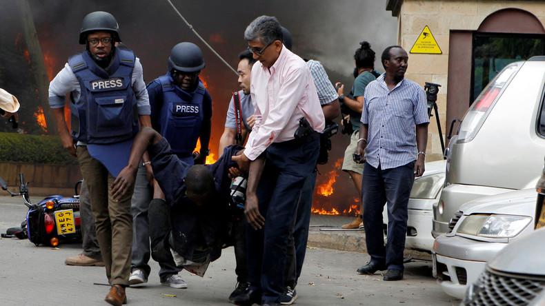 Polizei: Attentäter wollten in Nairobi US-Konferenz angreifen
