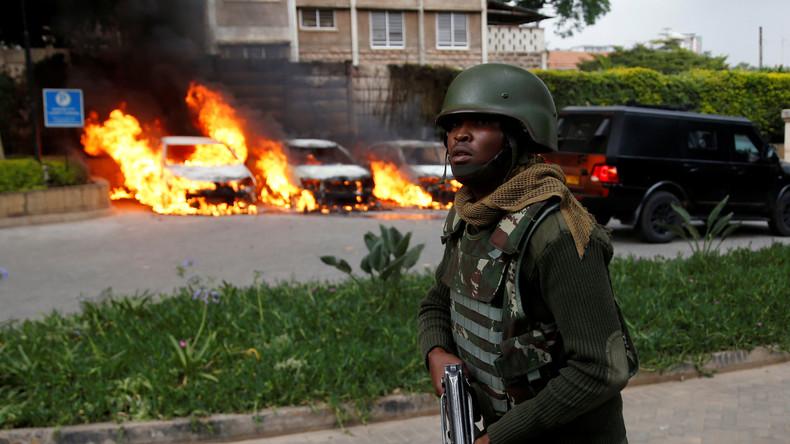 14 Todesopfer bei Terroranschlag in Kenias Hauptstadt Nairobi - alle Angreifer getötet