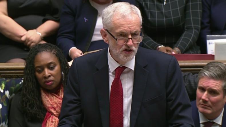 Großbritannien: Labour-Chef Corbyn reicht Misstrauensantrag gegen May-Regierung ein