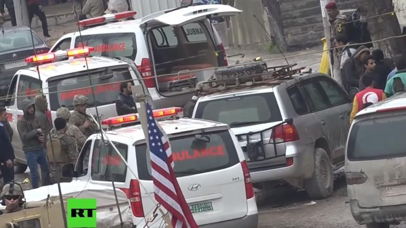 Selbstmordanschlag tötet vier und verletzt drei US-Soldaten im syrischen Manbidsch (Videos)