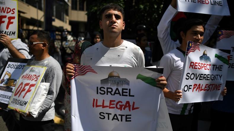 Aus Solidarität mit Palästinensern: Malaysia verweigert Israelis Teilnahme an Sportevents