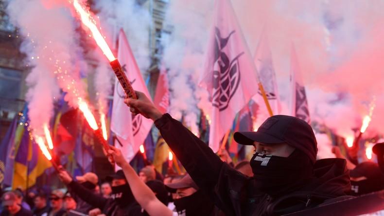 """Ukraine: Rechtsradikale """"Bürgerwehr"""" als Wahlbeobachter bei Präsidentschaftswahl zugelassen"""