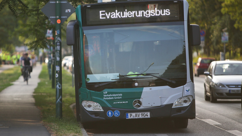 Entschärfung eines Blindgängers in Potsdam - Hauptbahnhof komplett gesperrt
