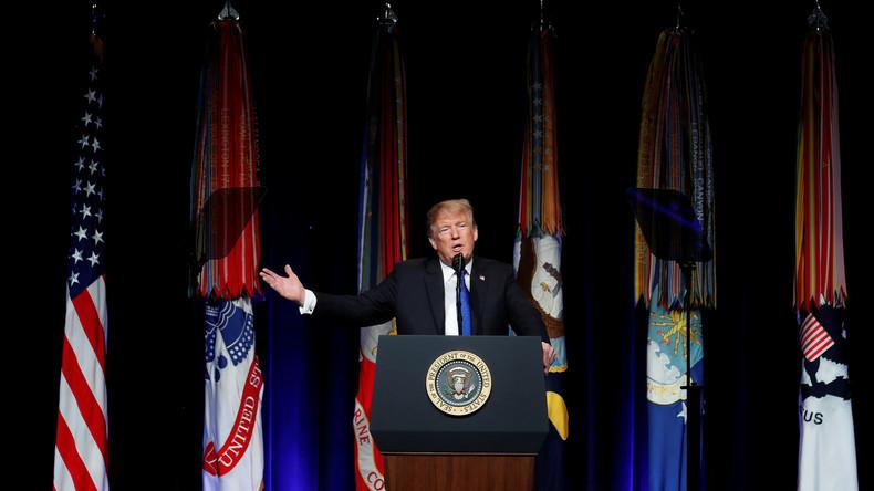 Trump erklärt Weltall zu neuem Kriegsschauplatz und verkündet Raketenstationierung in Alaska