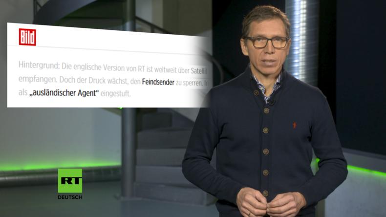 """""""Feindsender"""": Wie BILD im Nazi-Jargon und mit Lügen gegen RT mobilisiert"""