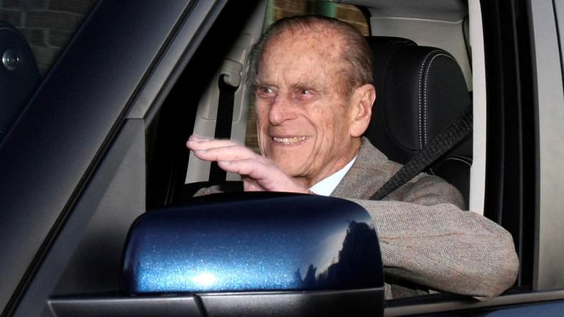 Britischer Prinzgemahl Philip in Autounfall verwickelt