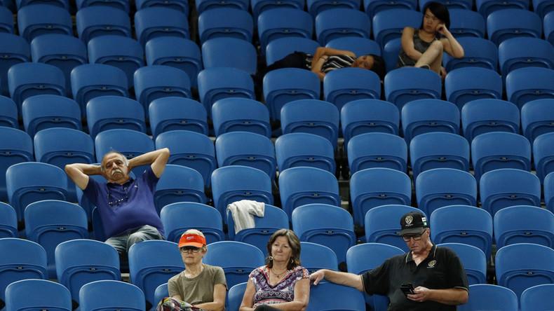 Spätester Spielstart der Australian Open: Tennispartie beginnt wegen Vogelkot nach Mitternacht