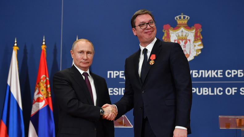 """""""Freunde in Europa"""": Russland und Serbien bauen strategische Partnerschaft aus"""