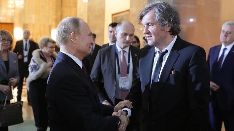 """Filmregisseur Emir Kusturica: """"Ich bin ein Freund von Wladimir Putin"""" (Video)"""