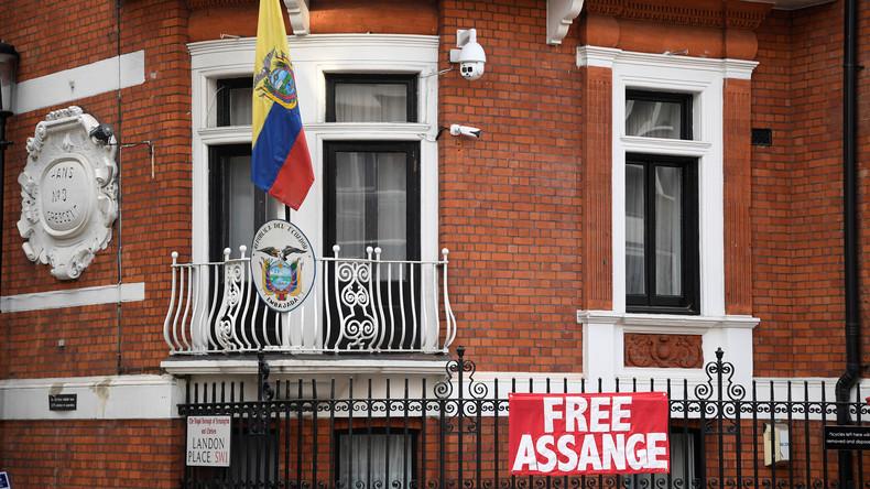 WikiLeaks: US-Justizministerium befragt Mitarbeiter der ecuadorianischen Botschaft zu Guardian-Fake