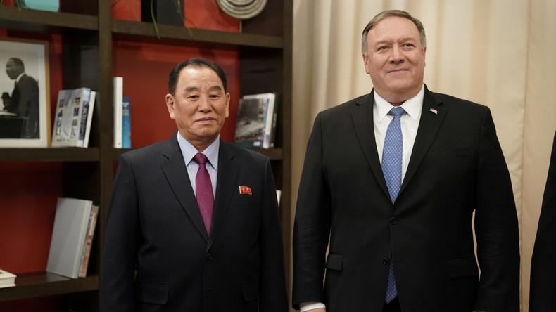 Pompeo empfängt nordkoreanischen Chefunterhändler in Washington