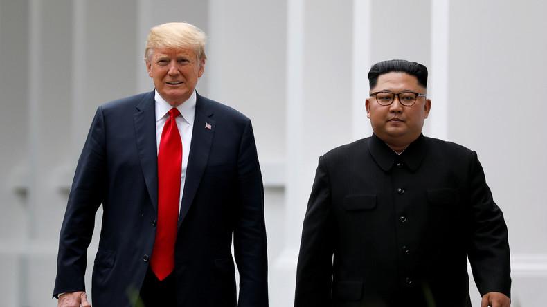 Weißes Haus: Trump und Kim Jong-un wollen sich Ende Februar treffen