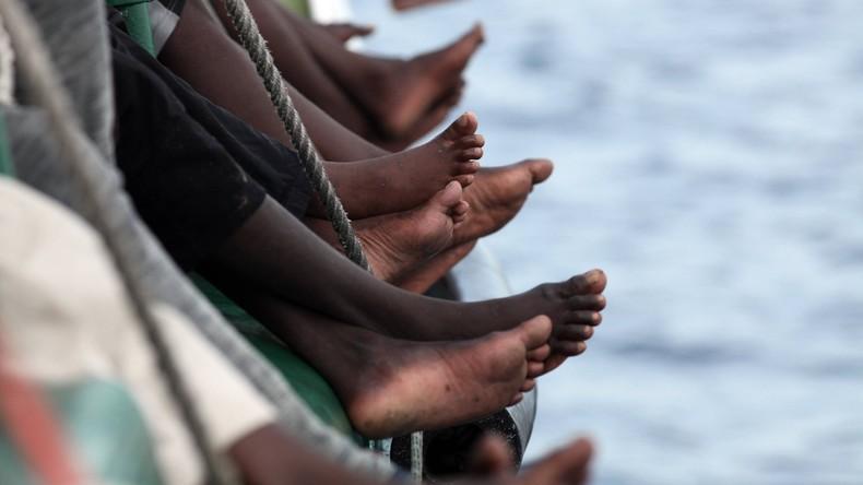 Schlauchboot mit Migranten kentert: Mehrere Vermisste vor Libyen