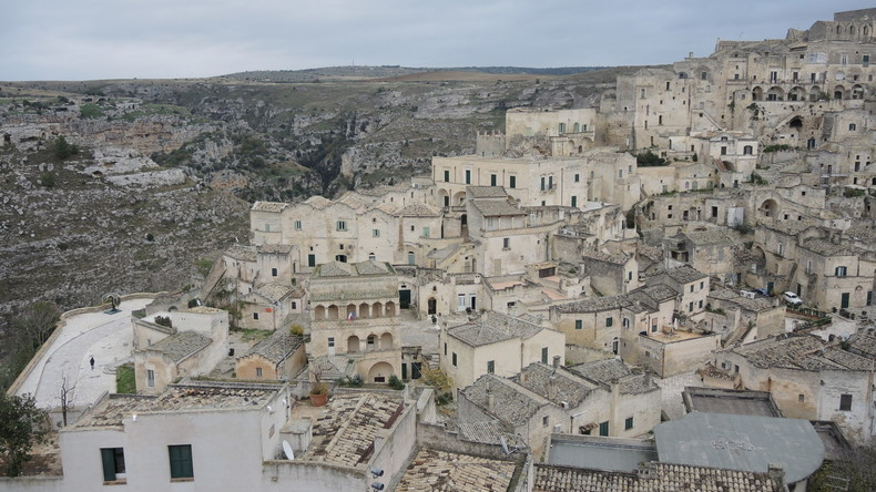 Matera eröffnet Jahr als Kulturhauptstadt
