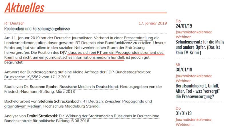 Klatschmühlen im Journalistendorf drehen sich: Warum Fake News über RT unausrottbar sind