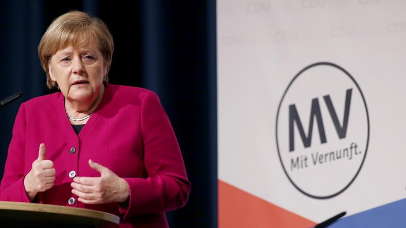 Merkel zu Brexit: Bis zuletzt für vertragliche Lösung arbeiten