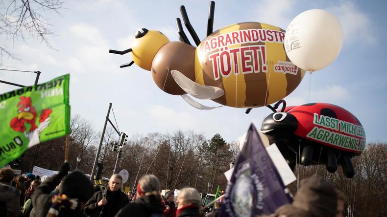 Berlin: 35.000 bei Demo für nachhaltige Landwirtschaft