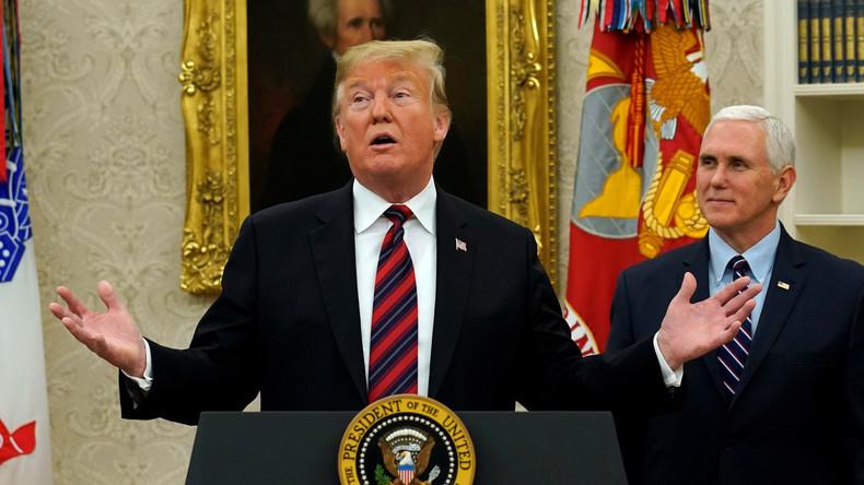 """Trump macht neues Angebot für """"Shutdown""""-Ende - Demokraten lehnen ab"""