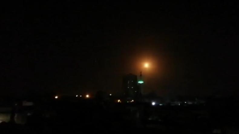 Damaskus: Syrische Luftverteidigung reagiert auf israelische Angriffe