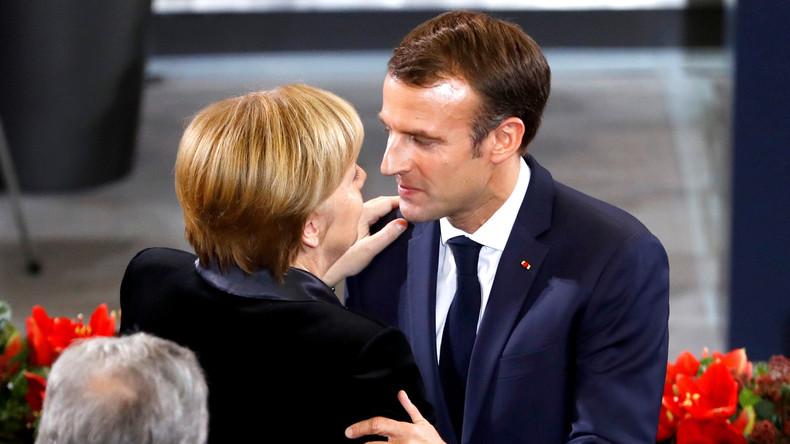 Zur Verteidigung der EU: Frankreich und Deutschland schmieden neues Bündnis