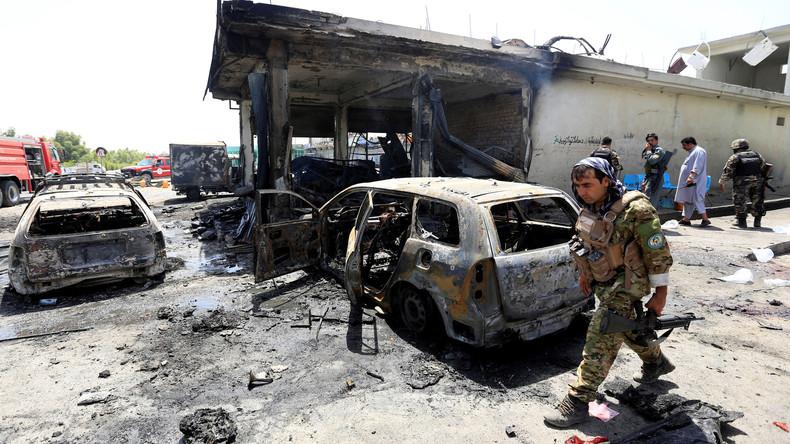 Angriff auf Geheimdienstbasis in Zentralafghanistan - Über hundert Tote