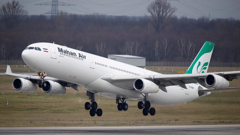 Bundesregierung auf US-Kurs: Iranische Mahan Air darf nicht mehr nach Deutschland fliegen