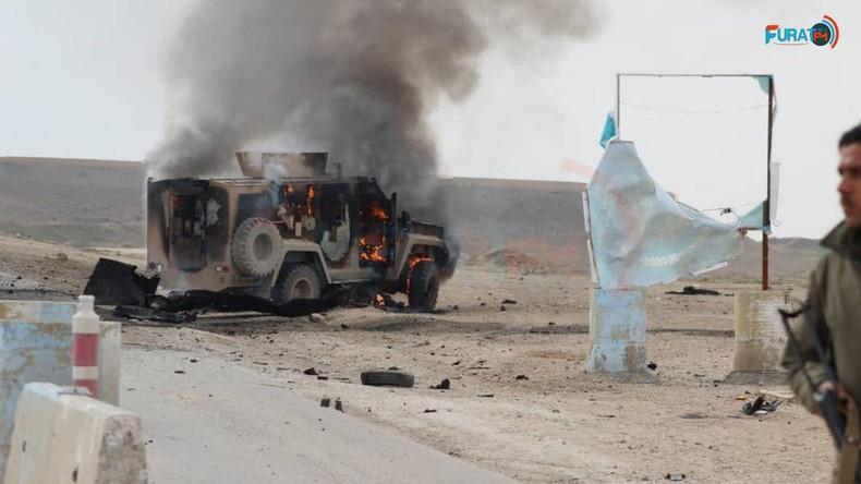 Kurdische Medien: Selbstmordattentat auf Konvoi von US-Armee und Kurden-Miliz in Nordostsyrien