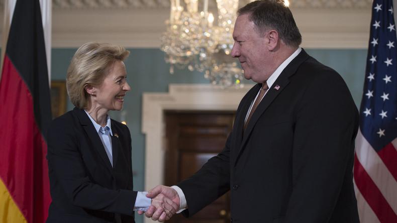 """Ursula von der Leyen spricht von """"Russlands Aggression in Osteuropa"""""""
