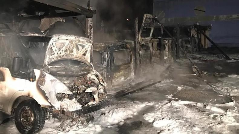 Brandanschlag auf Fuhrpark des Neuköllner Ordnungsamtes – Staatsschutz ermittelt